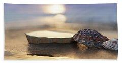 Sunset Shells Hand Towel