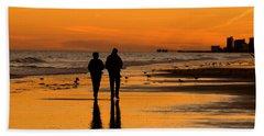 Sunset Stroll Hand Towel
