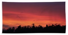 Sunset Tones Bath Towel