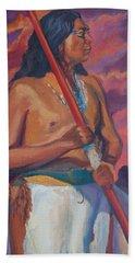 Sunset Warrior Hand Towel