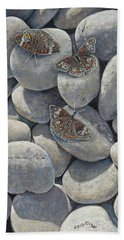 Sunshine And Butterflies Bath Towel