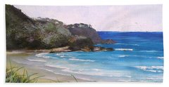 Sunshine Beach Qld Australia Hand Towel