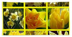 Sunshine Gold Picture Window Hand Towel