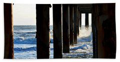 Sunwash At St. Johns Pier Bath Towel