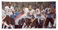 Superbowl Xii Hand Towel by Donna Tucker