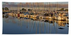 Bath Towel featuring the photograph Sur La Mer by Gary Holmes