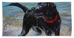 Surf Pup Bath Towel by Molly Poole