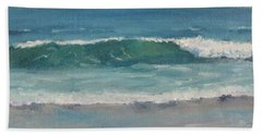 Surf Series 5 Hand Towel by Jennifer Boswell