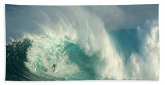 Surfing Jaws 3 Hand Towel
