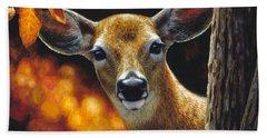 Whitetail Deer - Surprise Hand Towel