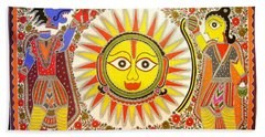 Surya Grahan Hand Towel