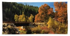Susan River Bridge On The Bizz 2 Hand Towel