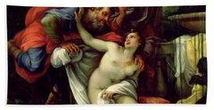Susanna And The Elders Bath Towel