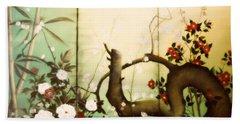Sunshine In The Garden Bath Towel by Sorin Apostolescu