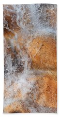Suspended Motion Hand Towel by Glenn McCarthy Art and Photography