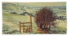 Sussex Stile, Winter, 1996 Bath Towel