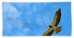 Swainson's Hawk Snake River Birds Of Prey Natural Conservation Area Bath Towel