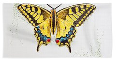 Swallowtail - Butterfly Hand Towel