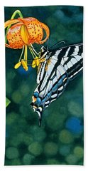 Swallowtail Splendor Hand Towel