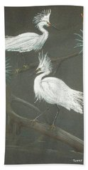 Swampbirds Bath Towel