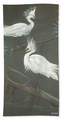 Swampbirds Hand Towel