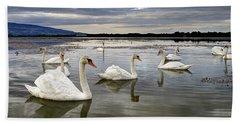 Swans Bath Towel