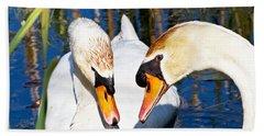 Swans Hand Towel