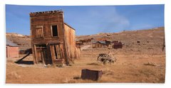 Swazey Hotel Bodie Ghost Town Hand Towel