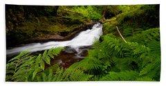 Sweet Creek Ferns Bath Towel