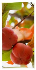 Hand Towel featuring the photograph Sweet Fruit by Erika Weber