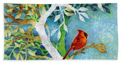 Redbird Bath Towels