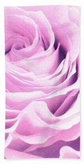 Sweet Pastel Rose Hand Towel