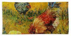 Sweet Pickins, Chickens Hand Towel