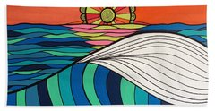 Swept Away By You Hand Towel