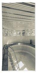 Swimming Pool At Stalins Dacha, Sochi Bath Towel