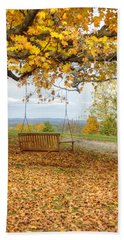 Swing With A View Hand Towel