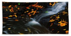 Swirls Bath Towel by Melissa Petrey