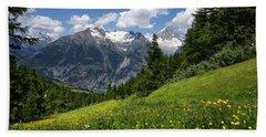 Switzerland Bietschhorn Hand Towel