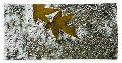Symbols Of Autumn  Bath Towel
