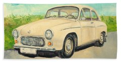 Syrena 105 - Polish Car Bath Towel