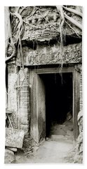 Ta Prohm Doorway Hand Towel