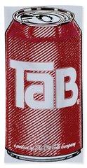 Tab Ode To Andy Warhol Bath Towel