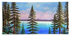 Tahoe Pines Hand Towel