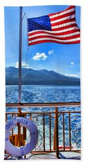 Tahoe Queen Lake Tahoe By Diana Sainz Bath Towel