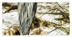 Tail Feathers Hand Towel