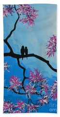Hand Towel featuring the painting Take Me Away With You by Dan Whittemore