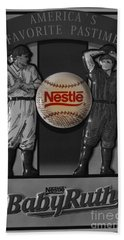Hand Towel featuring the photograph Take Me Out To The Ball Game by Janice Westerberg
