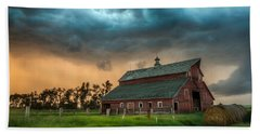 Bath Towel featuring the photograph Take Shelter by Aaron J Groen