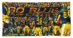 Take The Field Hand Towel by John Farr