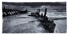 Taken By The Sea Hand Towel